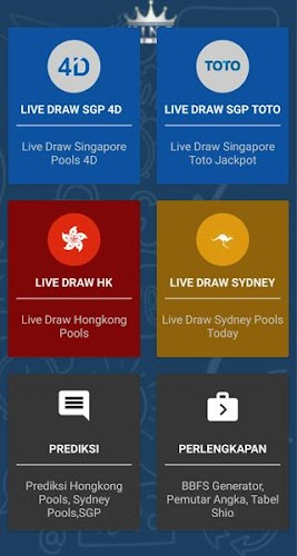 Live Draw SGP HK SYDNEY APK | APKPure ai
