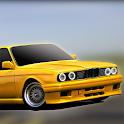 E30 Old Car Parking Simulation icon