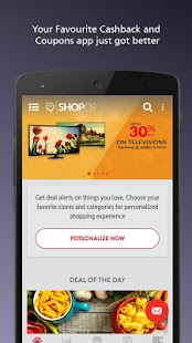 Cashback App & Coupons- screenshot thumbnail