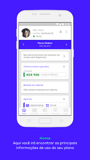 Amil Clientes screenshot for Android