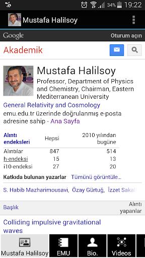 Prof. Mustafa Halilsoy