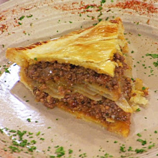 Miss Hilda's Meat and Potato Pie.
