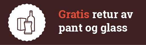 Gratis retur av pant, glass og metall