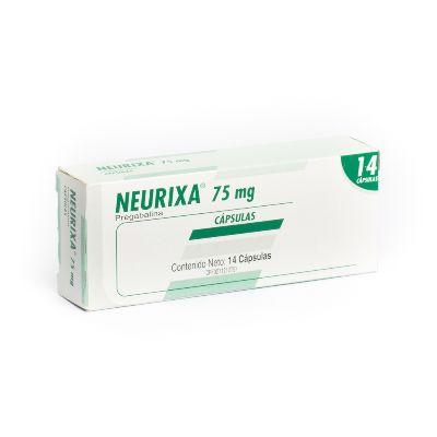 Pregabalina Neurixa 75 mg x 14 Cápsulas