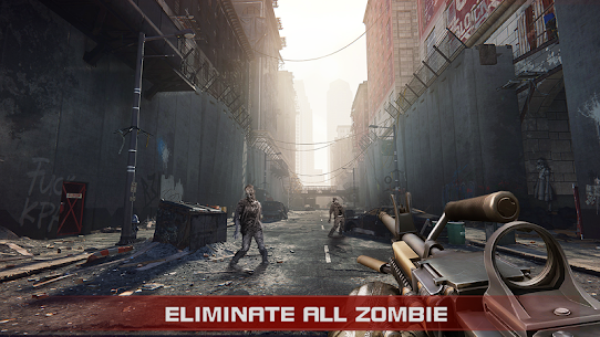 Zombie Shooter:  Pandemic Unkilled 7
