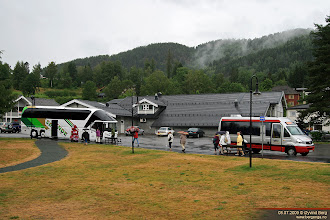 Photo: DN 21138 ved Kviteseid bryggje, 08.07.2009.