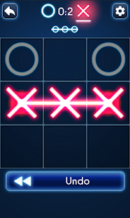 Tic Tac Toe Glow- screenshot thumbnail