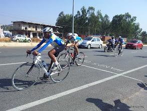 Photo: Raman and Dev finishing..