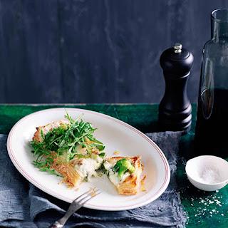 Broccoli And Salt Cod Torta