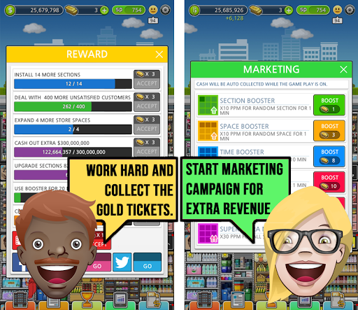 Mega Store Manager: Business Idle Clicker 1.0.79 {cheat|hack|gameplay|apk mod|resources generator} 5