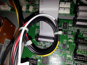Photo: Power supply cable bodge