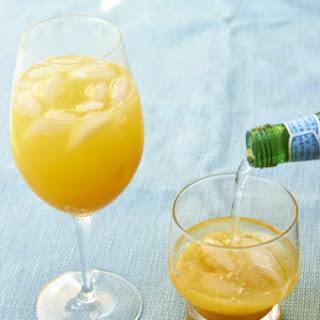 A Peach Cocktail and a Mocktail for Mixed Company Recipe