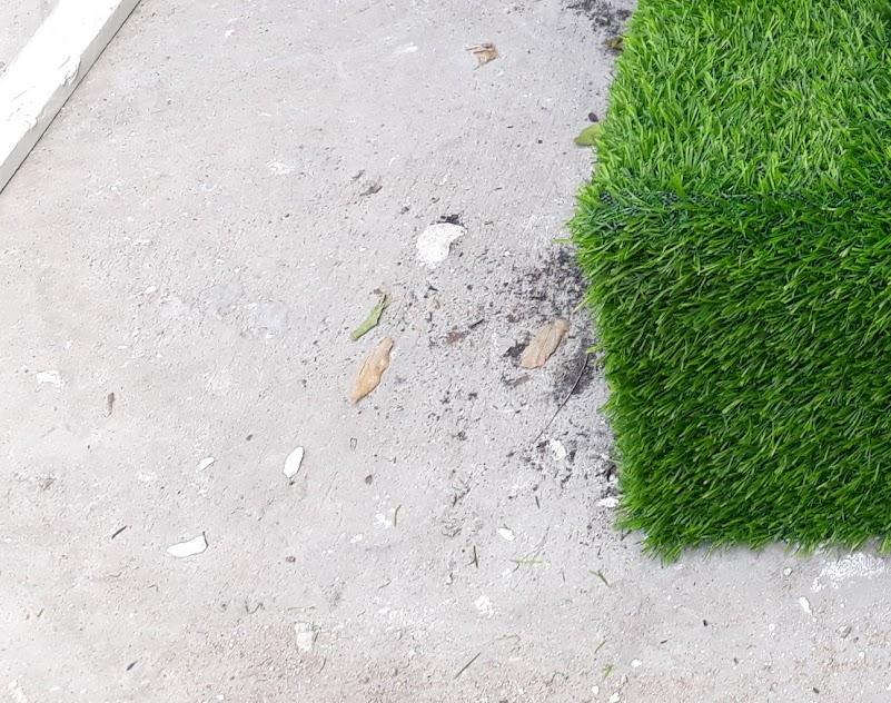 Mặt hàng dùng cho việc khắc phục nhược điểm là Thảm sân vườn