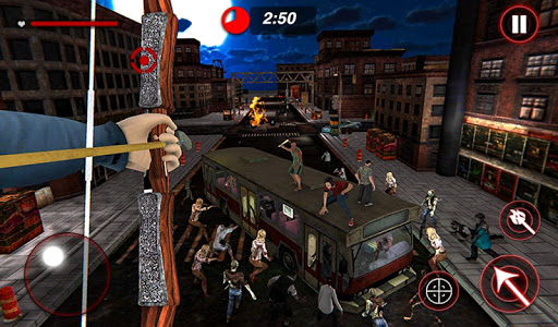 Archer Hunting Zombie City Last Battle 3D 1.0.4 screenshots 13