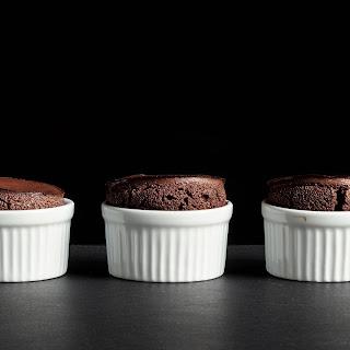 Chocolate Soufflés.