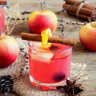 Spiked Cranberry-Apple Cider.