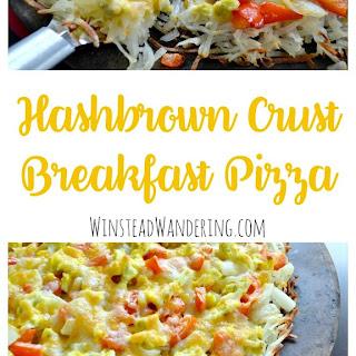 Hashbrown Crust Breakfast Pizza Recipe