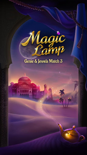 Magic Lamp - Genie & Jewels Match 3 Adventure 1.2.0 screenshots 1