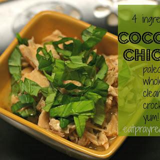 4 Ingredient Coconut Paleo Chicken