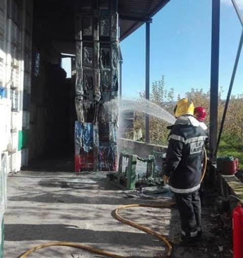 Homem em estado grave após incêndio em armazém de Lamego