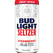 Canned Bud Lt Seltzer Strawberries