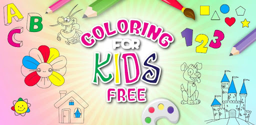 Teach to color, draw and paint to your children. FREE - Educational App - Funny!