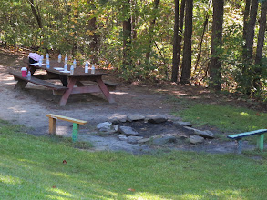 Photo: Eluta fire ring and picnic area