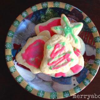Rolled Sugar Cookies Sugar Cookie Icing.