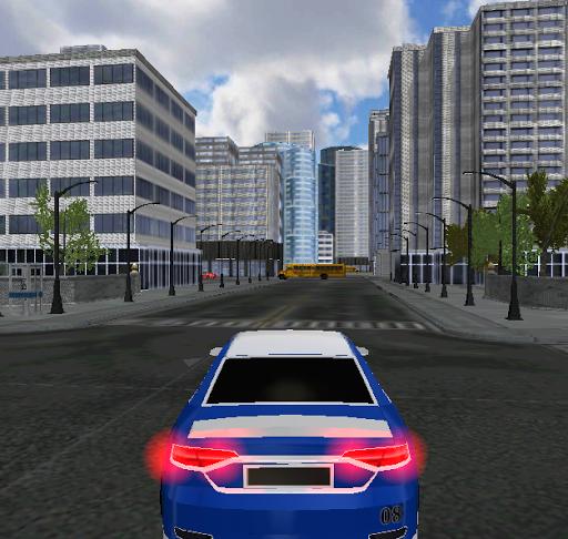 Sports Car City Simulation