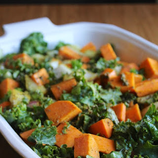 Kale & Sweet Potato Bake