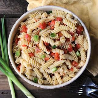 4 Ingredient Pasta Salad.