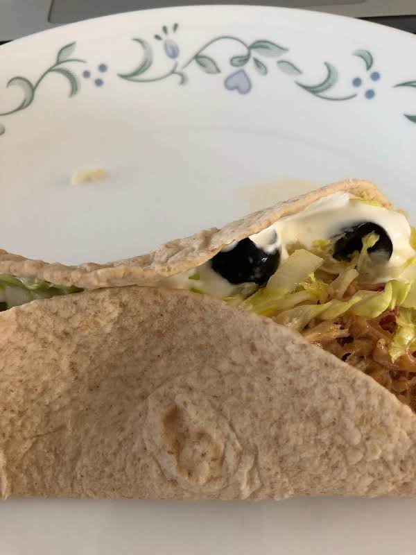 Shredded Chicken Taco's Recipe