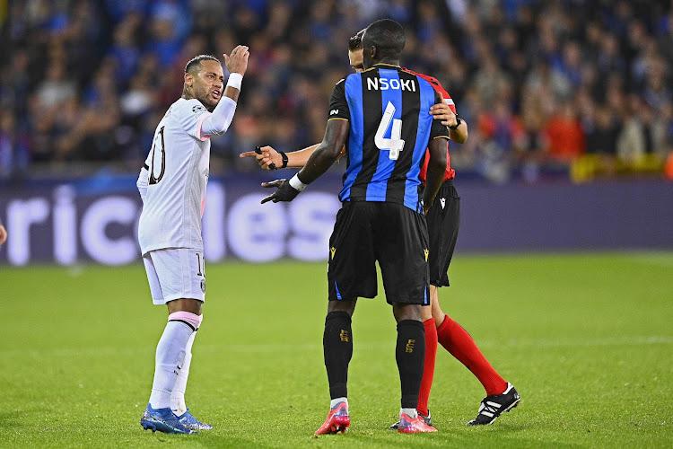 """Stanley Nsoki revient sur son accrochage avec Neymar : """"Dans le foot, il y a toujours de l'émotion"""""""