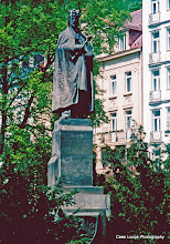 Photo: 11 mei. Tsjechië. Karlovy Vary (Karlsbad). Karel IV.