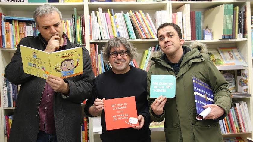 Paco Calavera, Pepe Céspedes y Alvarito.