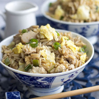 Low Fat Chicken Fried Rice.