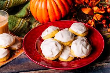 Pumpkin Ricotta Cookies