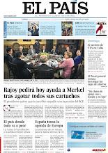 Photo: Rajoy pedirá ayuda a Merkel tras agotar todos sus cartuchos, cómo está afectando la crisis al pueblo griego y una historia sobre el alto funcionario cubano que tuteló a activistas etarras durante 15 años, en la portada del domingo 20 de mayo de 2012 http://srv00.epimg.net/pdf/elpais/1aPagina/2012/05