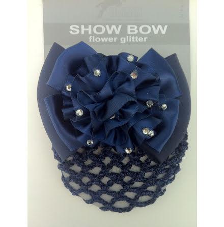 Hårrosett Flowerglitter