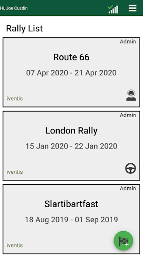 Rally Control screenshot 1