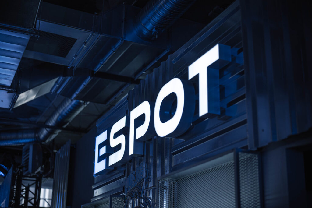 ESPOT is one of the largest eSports facilities in Poland and the whole of Europe