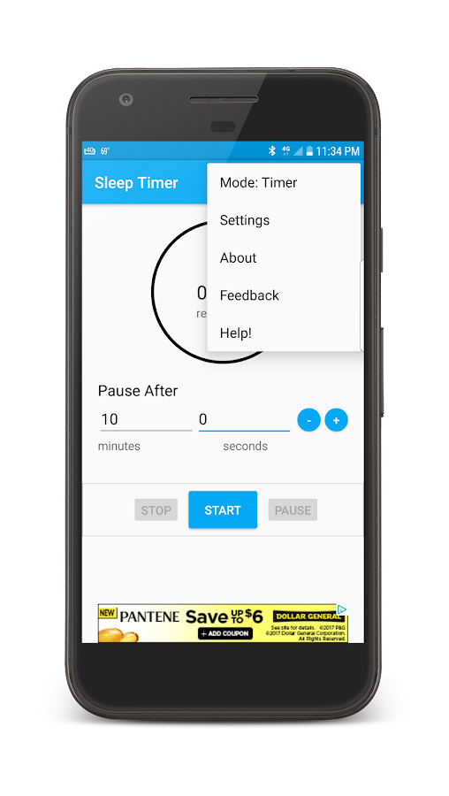 Advanced Sleep Timer: Stop Music by Tracking Songs- screenshot