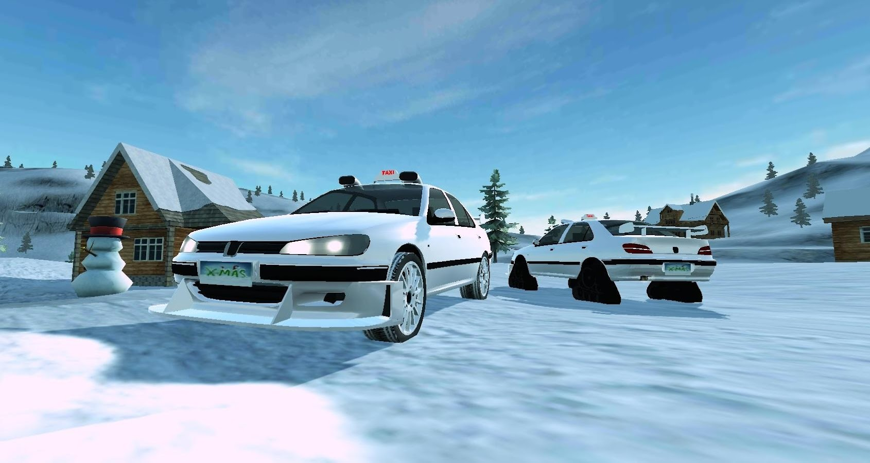 Off road winter edition 4x4 screenshot