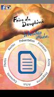 Screenshot of Foire du Dauphiné