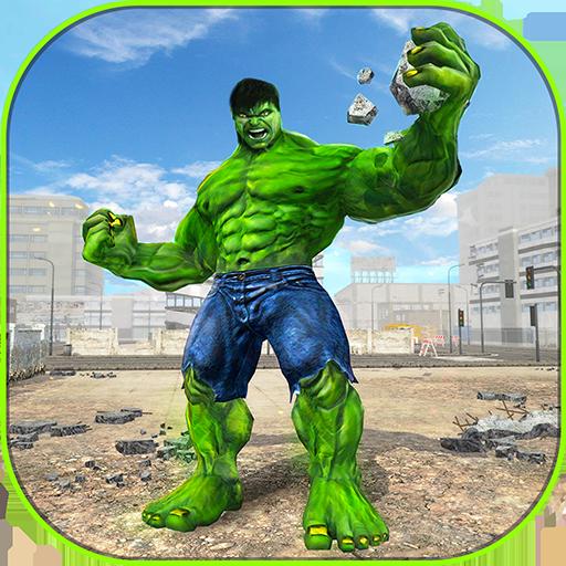 Incredible Monster Superhero Bulk City Battle