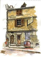 Photo: Semur en Auxois - door1