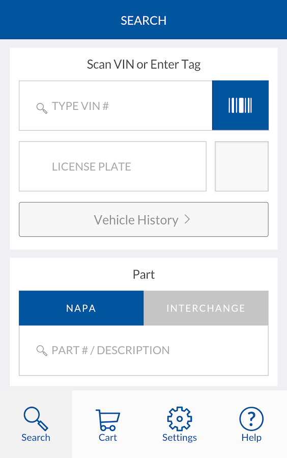 NAPA PROLink Mobile- screenshot