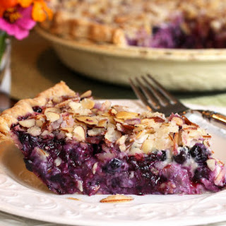 Blueberry Goat Cheese Pie.