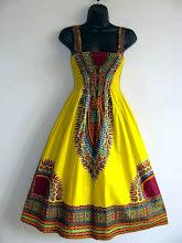Photo: Dashiki en vestido