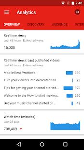 YouTube Creator Studio Screenshot 8